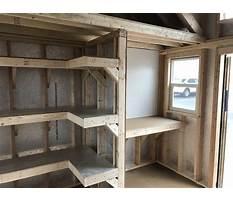 Building shelves for shed Video