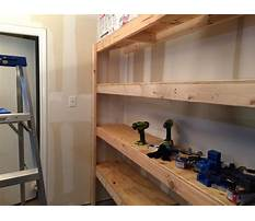 Building shelves plans Video