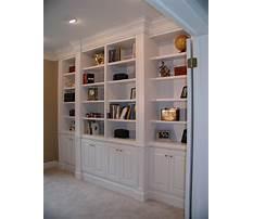 Built in bookshelves design plans Video