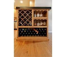 Built in cabinet wine rack Video