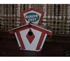 Burger chef bird house for sale Video