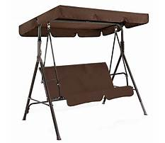 Canopy swing covers Video