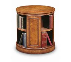 Carousel bookcases wood Video