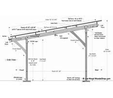 Carport framing plans Video