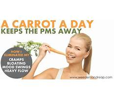 Carrot diet for pms Video