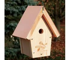 Cedar bird house for sale Video