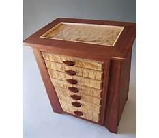 Cedar jewelry box plans Video