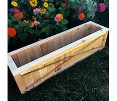 Cedar planter boxes toronto Video