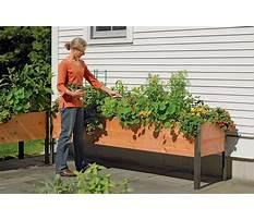 Cedar raised bed planter boxes Video