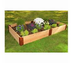 Cedar raised gardens Video