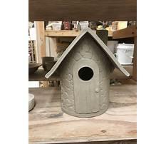 Ceramic bird house ideas Video