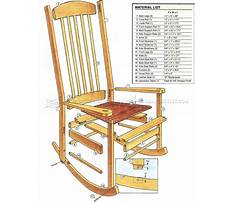 Chair construction plans Video