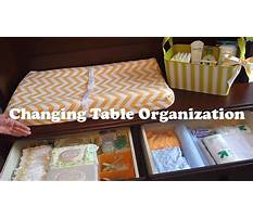 Changing table organization on a budget how to organize a changing station Video