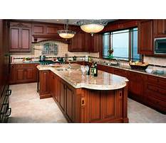Cherry cabinets and wood floors Video