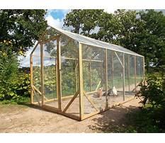Chicken enclosure plans Video