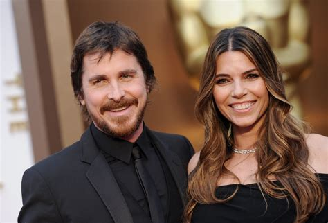 Christian Bale His Wife