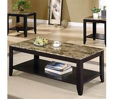 Coffee table and end tables for cheap Video