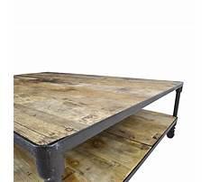Coffee tables like restoration hardware Video
