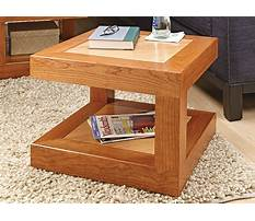 Coffee tables plans Video