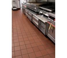 Commercial kitchen tile flooring Video