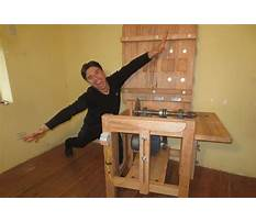 Como hacer un banco de madera para sierra circular Video