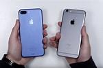 Compare iPhone 6s Plus and 7 Plus