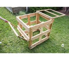 Compost bin plans wood Video