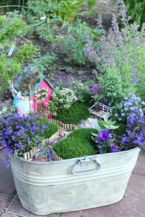 Container Fairy Garden Ideas