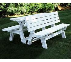 Convertible bench to picnic table.aspx Video