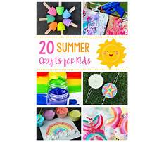 Cool easy projects for kids Video