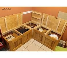 Corner bench with storage.aspx Video
