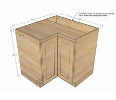 Corner cabinets sizes Video