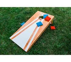 Cornhole board design Video