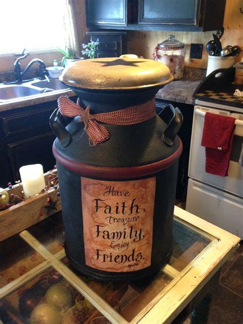 Country Decor Milk Cans