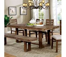 Country dining room table plans Video