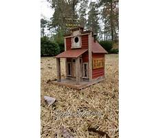 Country store birdhouses Video