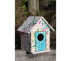 Creative clay birdhouses Video