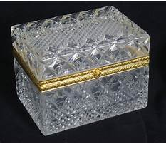 Crystal jewelry box sale Video
