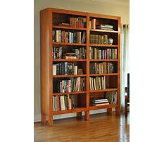 Custom bookshelves plans Video