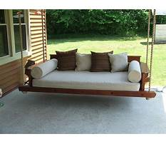 Custom carolina porch swings Video