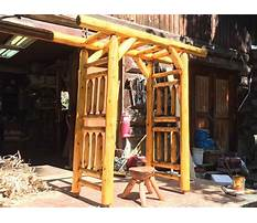 Custom cedar arches Video