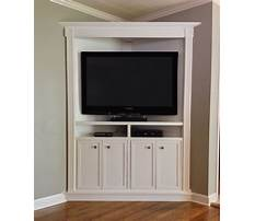Custom corner entertainment cabinets Video