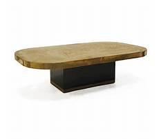 Cut corner coffee table mirror gold Video