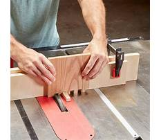Cutting box joints Video