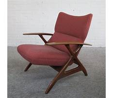 Danish mid century chair Video