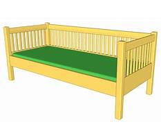 Daybed construction plans Video