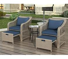 Deck patio furniture Video