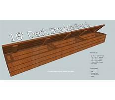 Deck storage bench plans.aspx Video