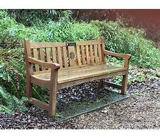 Decorative wood benches Video