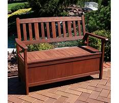 Decorative wooden bench Video